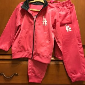 Majestic LA Dodgers MLB Fitness Outfit 3T